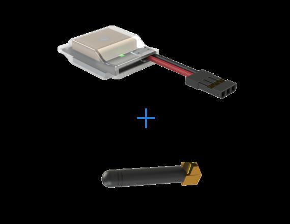 Balise d'identification à distance professionnelle pour drone Dronavia à intégrer